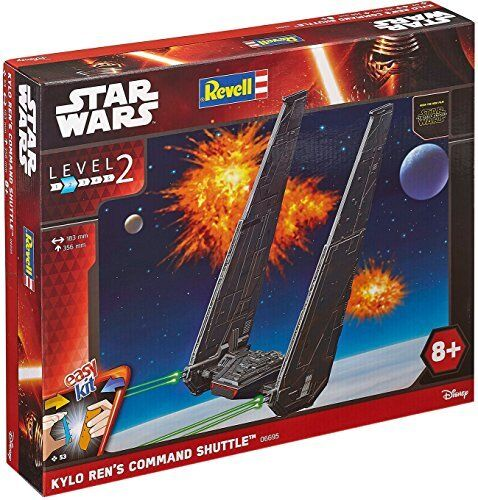 EasyKit Episode VII Kylo Ren's Command Shuttle Plastic Kit 1 93 Model 06695