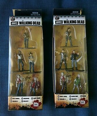 Daryl Glenn /& More Jada Nano Metalfigs 5 Pack The Walking Dead Negan