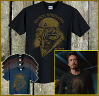 Black Sabbath Iron Man T-Shirt Tony Stark Robert Downey Jr Avengers Movie S-6XL