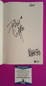 Kiss Peter Criss Signed Book Makeup To Breakup With Drum Set