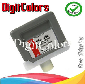 Replacement Pigment Red PFI306 ink cartridge  for Canon iPF9400