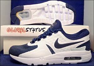 info for 4f2a3 f59ec Image is loading NIKE-ID-AIR-MAX-ZERO-MIDNIGHT-NAVY-BLUE-