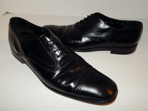 Salvatore Ferragamo 9 D Black Leather Dress Oxford