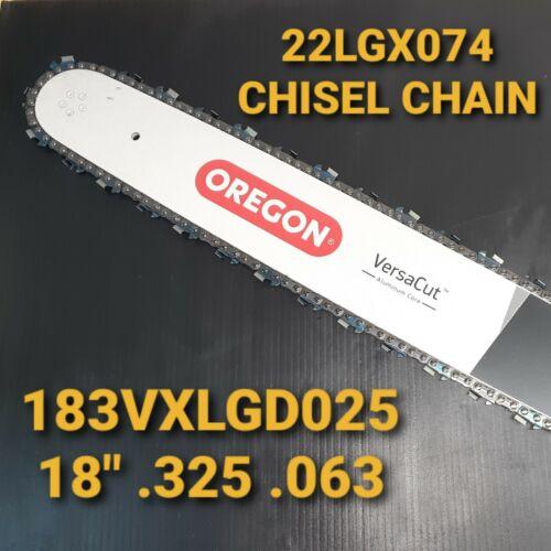 "18/"" Oregon STIHL 028 Versacut Bar /& Chisel Chain Chainsaw .325 .063"