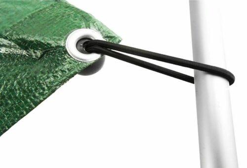 """4/"""" Bungee Ball Black Cord Loop Shock Cords Easy Fix Ties Tarpaulin Trailer"""