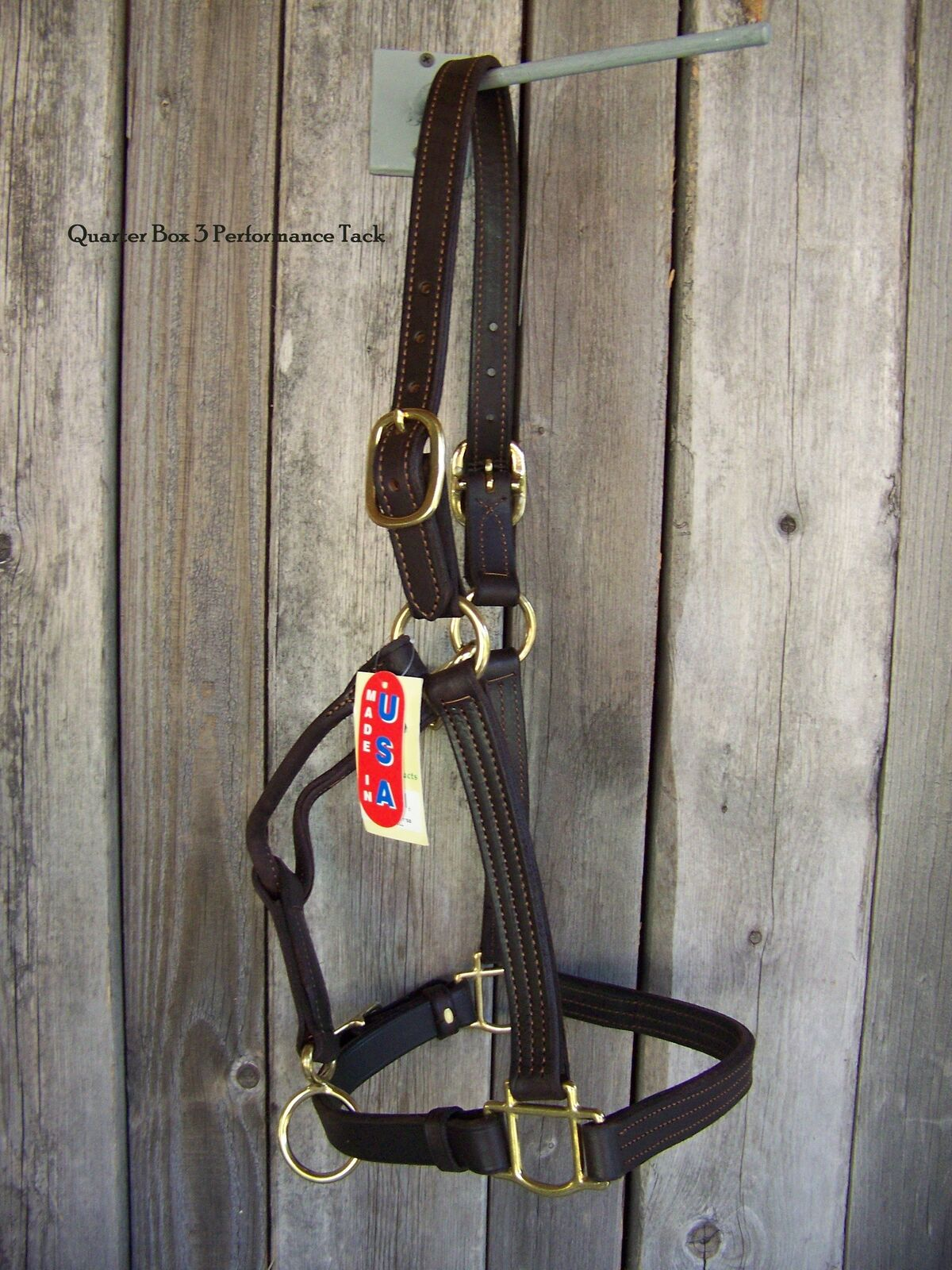 Halter - Leather Stable, Triple Stitched (Horse Size)