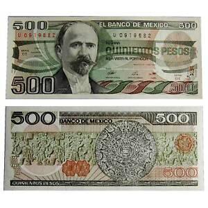 Pick-79b-Mexico-Mexico-500-Pesos-1984-UNC-6516079vvv