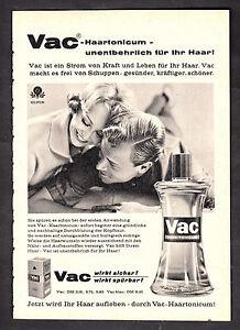 3w2286/Old Advertising 1960-Vac haartonicum-your hair needs it!