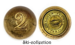 Rare-Button-2-Regiment-of-Zouaves-Officers-1852-1870-France-19-Mm-Jingle