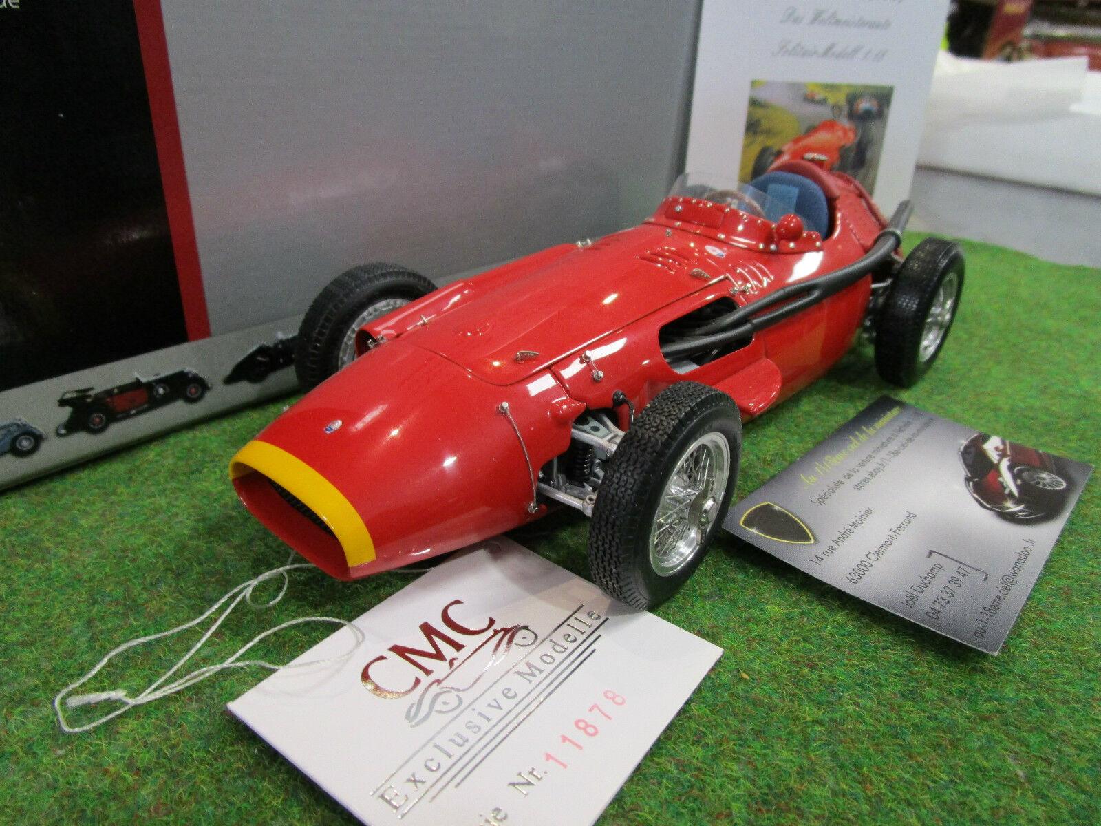 MASERATI 250F Grand Prix Sieger 1957 o 1 18 CMC M051 formule 1 voiture miniature