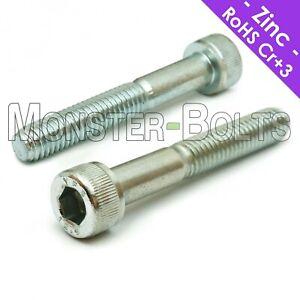 Socket Head Caps Screws 12.9 Alloy Steel DIN 912 Coarse 0.5 3mm 50 M3 x 30mm