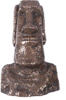 8.75h Easter Island Head Bronze Finish Wall Decor Figure Mount Sculpture Statue
