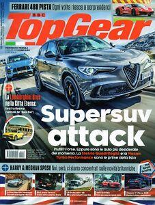 Details about Top Gear 2018 128 Alfa Romeo Stelvio Quadrifoglio,Ferrari 488  Pista,Audi R8 LMS