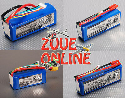 TURNIGY 4S 14.8V LIPO BATTERIES MULTI LISTING ALL MAH ALL C RATINGS 4 CELL