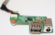 Hp dv6000 DC-IN Power Jack USB Port with Cable Laptop Replacement Parts