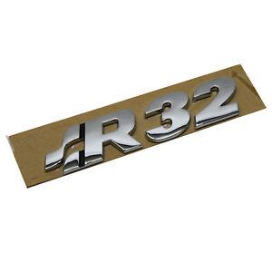 ORIGINAL-VW-Schriftzug-Emblem-Logo-R32-Heckklappe-VW-Golf-IV-1J0853675Q-739