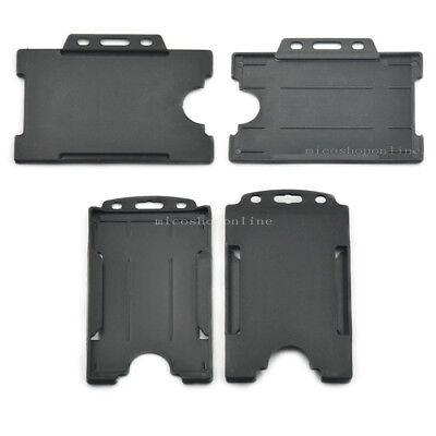 3pcs card holder for Reel ID Strap lanyard Badge Retractable horizontal vertical