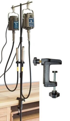 Foredom Tool MAMH-1 Double Motor Hanger With Mounting Clamp Flexshaft Motor Post