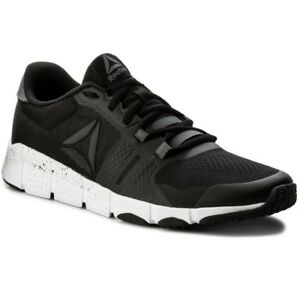 Reebok-Trainflex-2-bs9906-Uomo-Sneakers-Scarpe-da-Ginnastica-Sport-Nero-Lifestyle