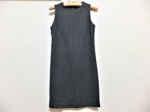 UNIQLO-women-039-s-dress-used-gray-Size-S-Free-shipping-From-Japan