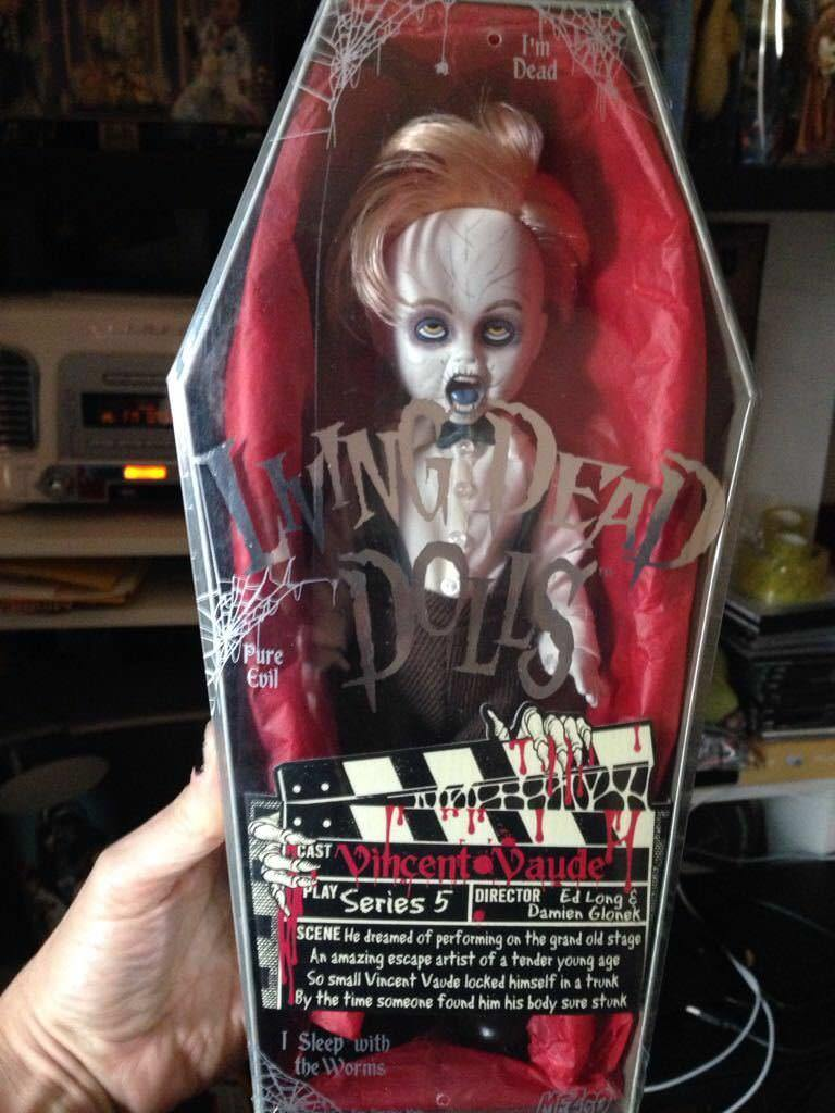 LIVING DEAD DOLL VINCENT SERIES 5 RARE SEALED NEW