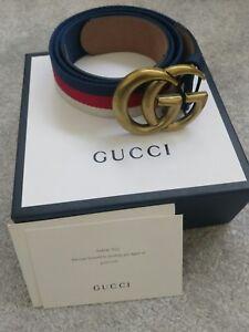 cae29890c428 Amazing Neuf Femme Ceinture Gucci GG Entièrement neuf dans sa boîte ...