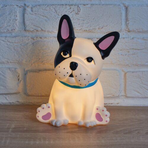 Boston Dog LED Table Lamp Children Bedroom Kid Puppy Light Ornament Home Decor