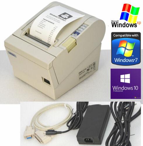 KASSENDRUCKER BONDRUCKER EPSON TM-T88III SERIEL RS-232 f WINDOWS XP 7 8 10 88-1