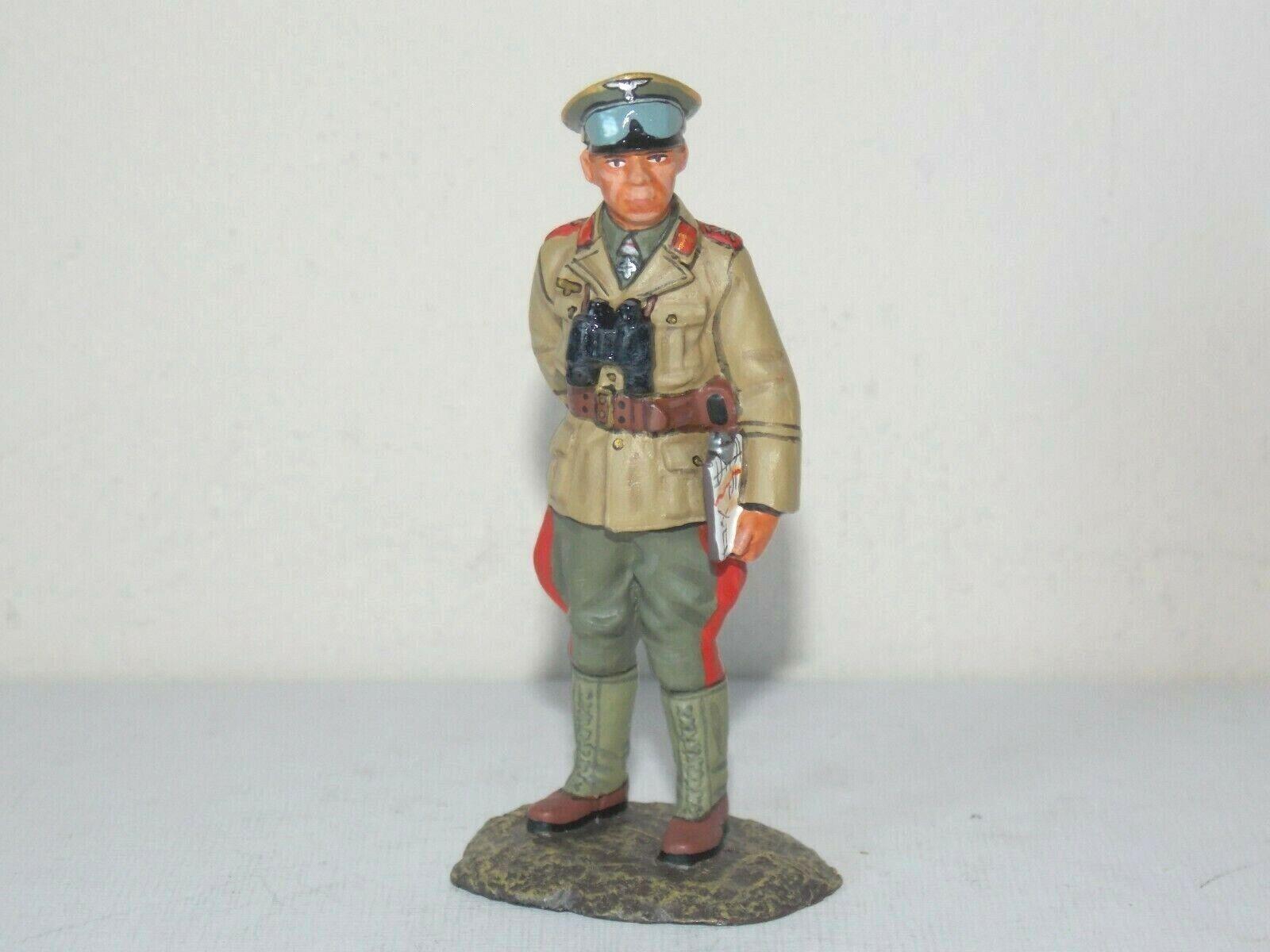 King & Country WWII German Forces. Feldmarschall Erwin Rommel. Rommel. WSS34. Retired