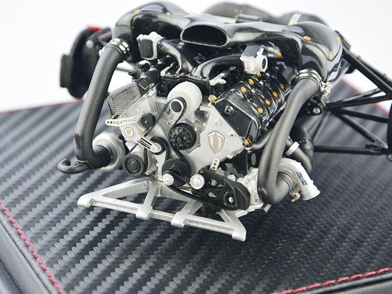 Frontiart Avan estilo Koenigsegg Agera RS Motor Modelo 1 18 + Regalo Pequeño