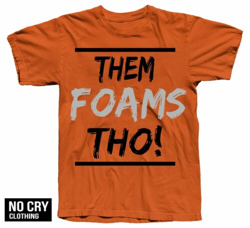 """Youth THOUGHS Shirt In Posite One /""""Magma/"""" total crimson foamposite Colorway GS"""