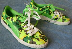 Puma Basket Camo Shoes - # 345286 01