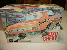 1970 CHEVY IMPALA SS454 - SUDDEN SHAKER - MPC #370-200 - UNBUILT W/ ORIG. PARTS