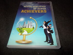 NEW DVD Gerard O039Donovan SEVEN QUALITIES OF SUPER ACHIEVERS Noble Manhattan RARE - <span itemprop=availableAtOrFrom>rushden, Northamptonshire, United Kingdom</span> - NEW DVD Gerard O039Donovan SEVEN QUALITIES OF SUPER ACHIEVERS Noble Manhattan RARE - rushden, Northamptonshire, United Kingdom