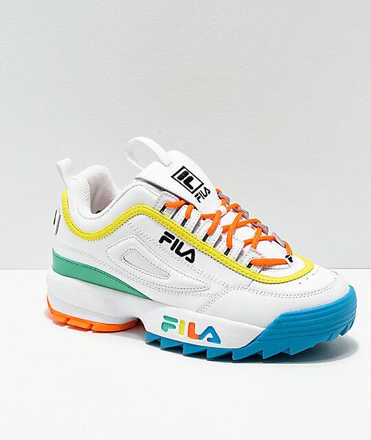auf der ganzen Welt gut verkaufen Schuhe Weiß Mehrfarbig