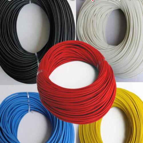 Φ1~25mm 200°C HIGH TEMP Silicone FiberGlass Sleeving Wire Cable Insulating Tube