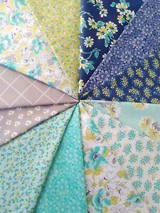 FLOUR-GARDEN-Linzee-Kull-McCray-Moda-quilting-fabrics-Feedsack-12-fat-quarters