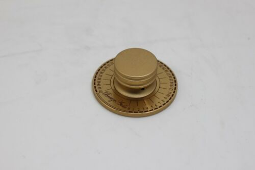 aluminium 60mm Golden knob with scale for audio power amplifier