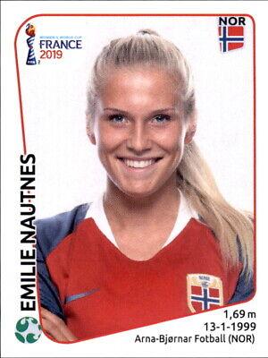 Gehorsam Panini Frauen Wm 2019 Sticker 76 - Emilie Nautnes - Norwegen GroßE Vielfalt