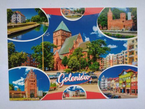 gegenwärtig Goleniów Gollnow neue Postkarte