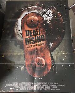Dead Rising Watchtower German 2 Sided Original 8 Fold Movie
