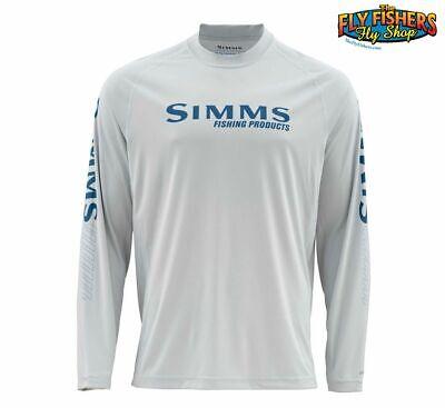 Simms SOLARFLEX Long Sleeve Crewneck Shirt ~ Chili NEW ~ Size Small ~ CLOSEOUT