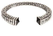 NWT Han Cholo Silver Pyramide Bangle Cuff Bracelet