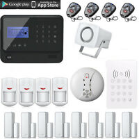 Wifi Gsm Gprs Wireless Home Security Alarm System Self Test Function
