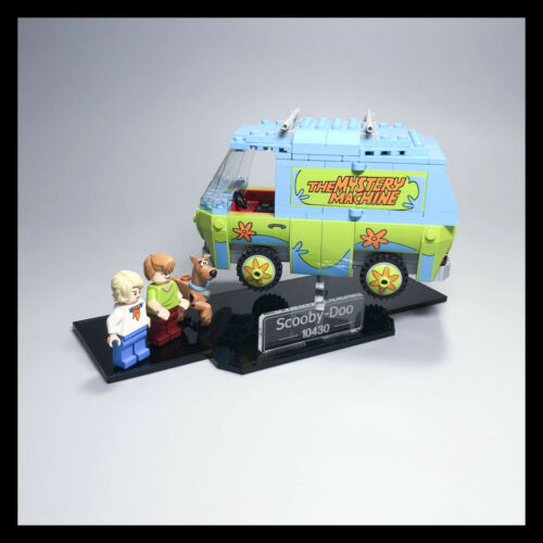 The Mystery Machine acrylic display stand 75902 LEGO Scooby Doo