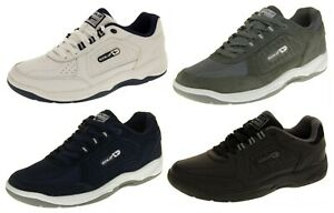 Mens GOLA WIDE FIT EE Trainers LEATHER
