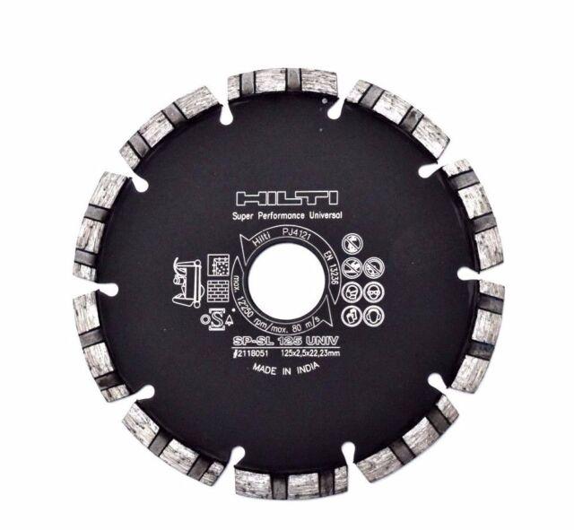 Hilti TRENNSCHEIBE EQD SP-SL125 (2) UNIV Schlitzgerät Diamanttrennscheiben