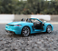 Bburago-1-24-Porsche-718-Boxster-Blue-Diecast-Model-Racing-Car-NEW-IN-BOX thumbnail 3
