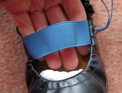 estilo zapatillas elásticas Sz 6 plegables azules negras Nuevo Zapatillas Firetrap planas y nxOP1qwz8w