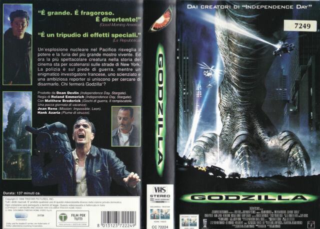 Godzilla (1998) VHS